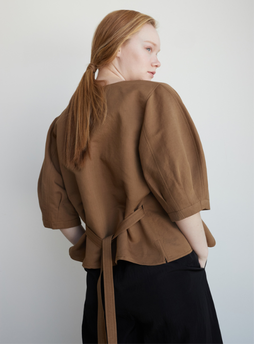 Volume jacket (camel)