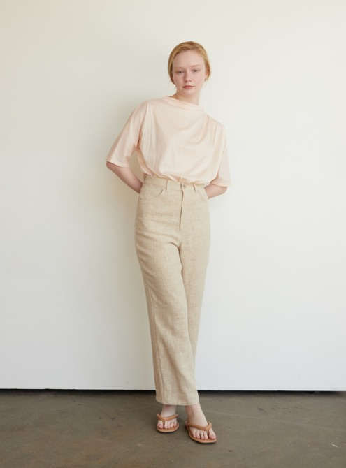Washing linen pants (beige)