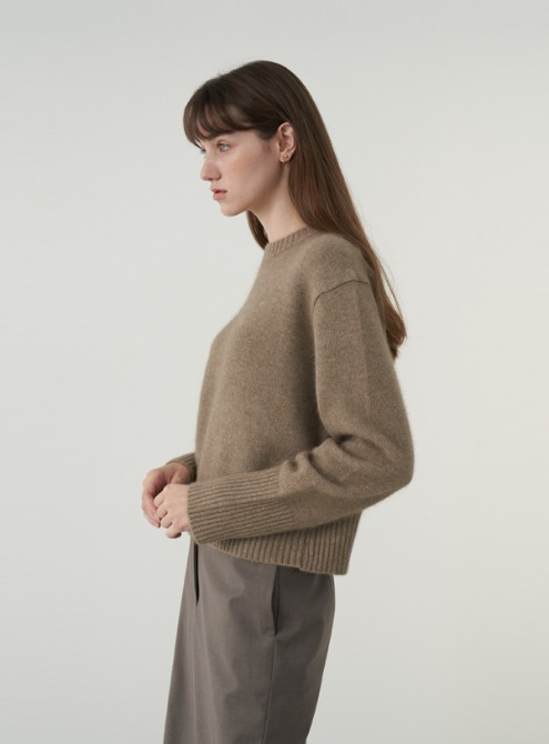 Raccoon sweater (beige)